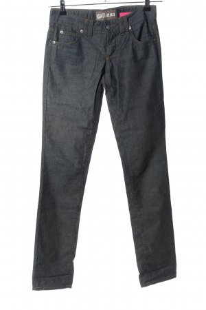 Galliano Slim Jeans hellgrau Casual-Look