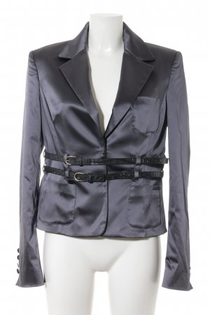 Galliano Smoking-Blazer anthrazit Business-Look