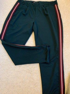 Yessica Pantalone elasticizzato verde scuro