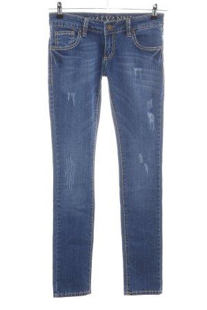 Galvanni Slim Jeans blau Casual-Look