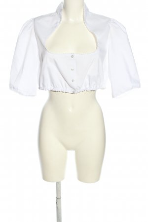 Gamsbock Traditional Blouse white classic style