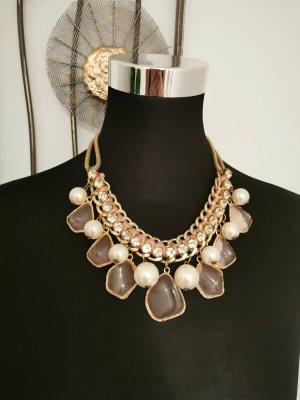 Ganesh Boutique Statement Kette Halskette Blogger rose gold