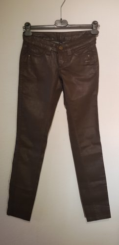 Gang Jeans taille basse brun noir