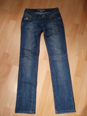 Gang Jeans vita bassa multicolore