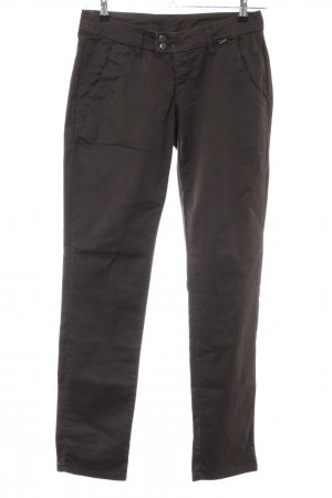 Gang Pantalon chinos brun style décontracté