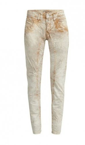 gang jeans Baggy Jeans light brown-oatmeal cotton