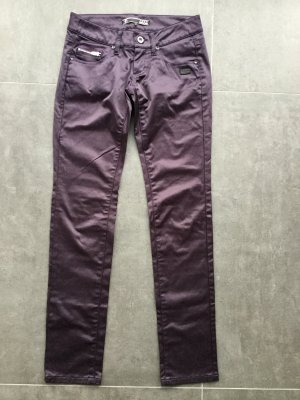 Gang Slim Jeans brown violet