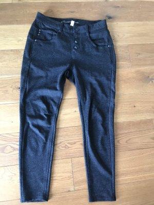 Gang Pantalone chino grigio scuro-nero