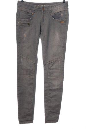 Gang Pantalone a vita bassa grigio chiaro stile casual