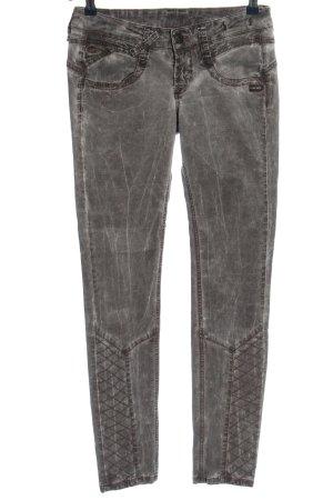Gang Spodnie biodrówki jasnoszary W stylu casual