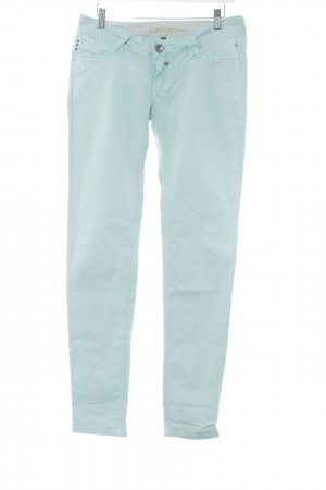 Gang pantalón de cintura baja menta-verde grisáceo look casual