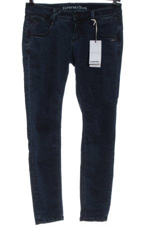 Gang Jeans vita bassa blu stile casual