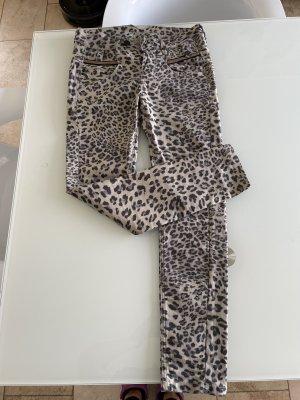 Gang Jeans slim fit marrone chiaro-nero