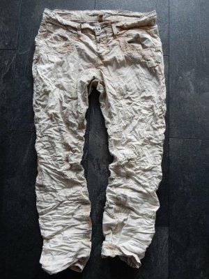 Gang Jeans larghi beige Cotone