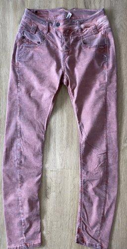 Gang Jeans da motociclista multicolore Cotone