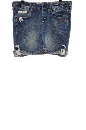 Gang Jeansrock blau Casual-Look