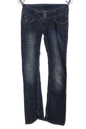 Gang Jeansschlaghose blau Casual-Look