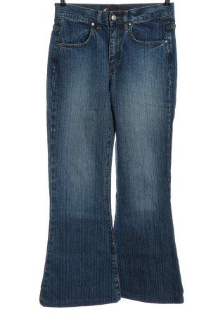 Gang Jeansowe spodnie dzwony niebieski W stylu casual