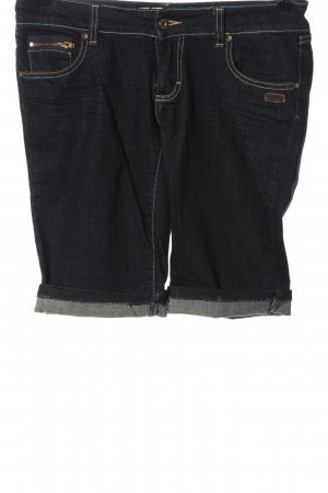 Gang Pantaloncino di jeans blu stile casual