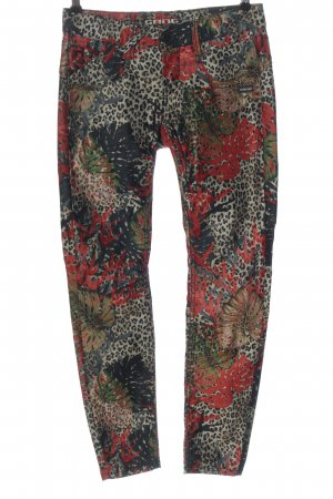 Gang Pantalone a sigaretta motivo floreale stile casual