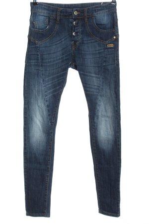 Gang Jeans a sigaretta blu stile casual