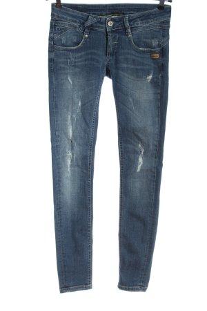 Gang Jeans skinny blu stile casual