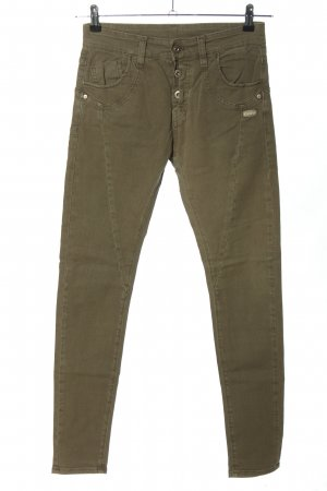 Gang Skinny Jeans khaki Casual-Look