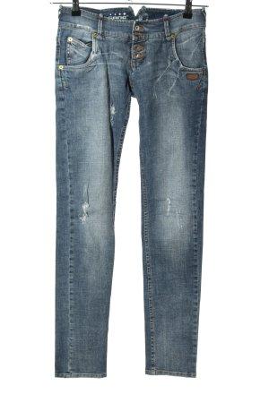 Gang Jeans slim fit blu stile casual