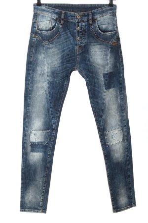Gang Dopasowane jeansy niebieski W stylu casual