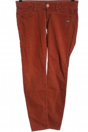 Gang Jeans slim fit rosso motivo a righe stile casual
