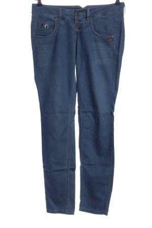 Gang Stoffhose blau Casual-Look