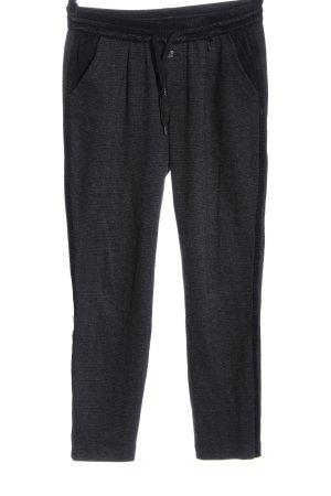 Gang Pantalone jersey grigio chiaro-nero stampa integrale stile casual