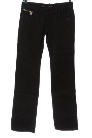 Gang Pantalone jersey nero stile casual