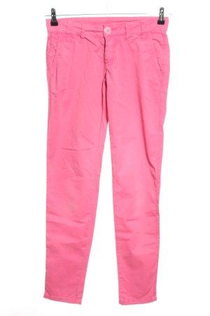 Gang Stoffhose pink Casual-Look