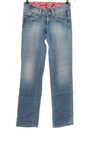 Gang Jeans a gamba dritta blu stile casual