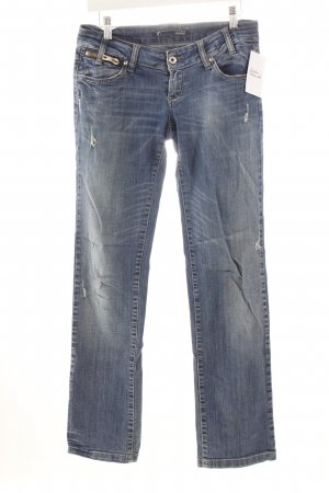 Gang Straight-Leg Jeans kornblumenblau Casual-Look