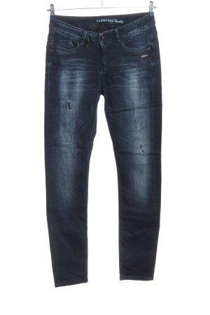 Gang Jeans stretch bleu style décontracté