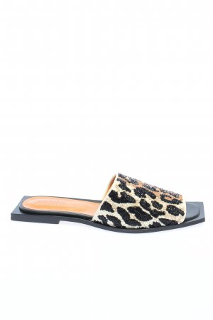 "Ganni Heel Pantolettes ""Slipper Leopard"""