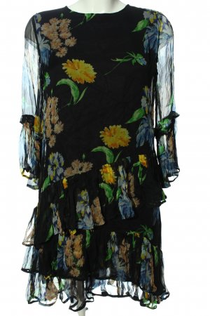 Ganni Chiffonkleid Blumenmuster Casual-Look