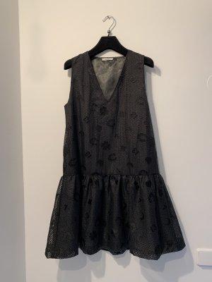 Ganni Robe Babydoll noir
