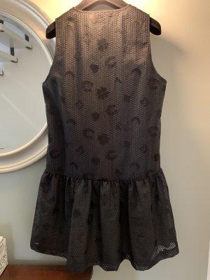 Ganni Babydoll-jurk zwart