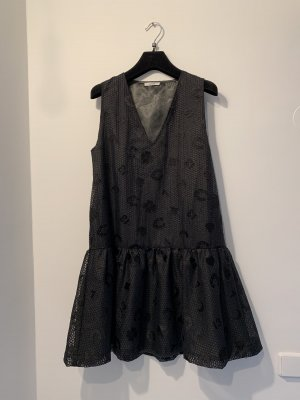 Ganni Sukienka typu babydoll czarny
