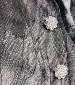 Ganni Abito blusa grigio Tessuto misto