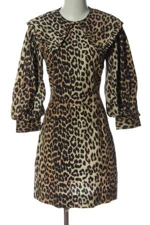Ganni Mini Dress allover print casual look