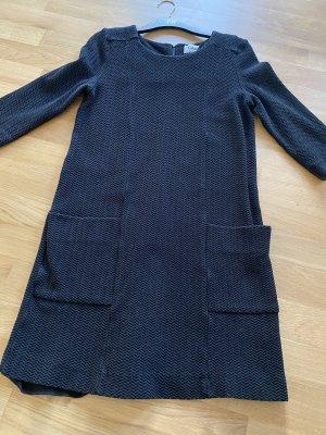GANNI Minikleid Kleid 60's Style schwarz Gr 36/38 M