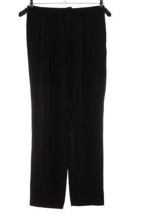 Ganni Pantalone palazzo nero stile professionale