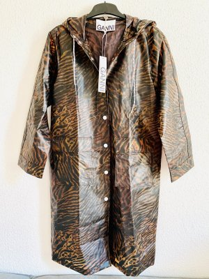 Ganni Heavy Raincoat brown