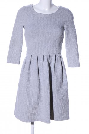 Ganni Shirtkleid hellgrau meliert Casual-Look