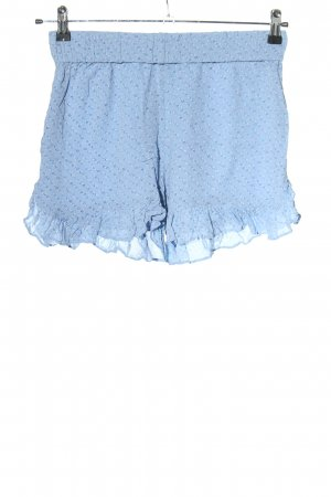 Ganni Shorts blue graphic pattern casual look