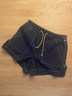 Ganni Shorts black-sand brown